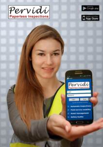 Pervidi's mobile inspection software