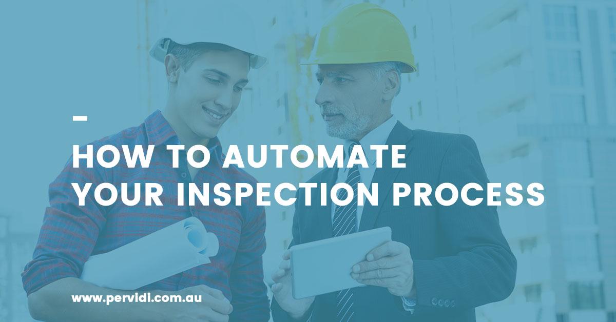 Automate Inspection Process
